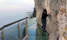 Glass Skywalk, Tianmenshan National Forest Park, China