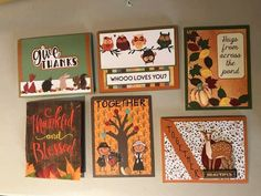Autumn Cards, Hug, Blessed, Gallery Wall, Thankful, Love You, Frame, Home Decor, Fall Cards