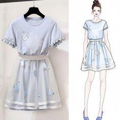 Korean Fashion – How to Dress up Korean Style – Designer Fashion Tips Teen Fashion Outfits, Look Fashion, Skirt Fashion, Fashion Dresses, Male Fashion, 70s Fashion, Korean Fashion Trends, Korean Street Fashion, Korea Fashion