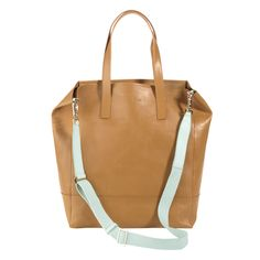 Cole Haan Bellport Leather Crossbody Tote www.colehaan.com