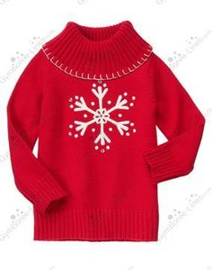 NWT Gymboree Winter Cheer Gem Snowflake Turtleneck Sweater - Size S (5-6) - 4 available - $20 shipped