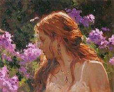 Spring by Richard Johnson Oil ~ 16 x 20