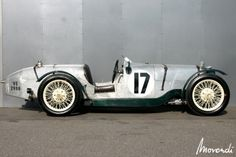 Riley Brooklands (1930). Tourist Trophy winner in 1932. Riley Le Mans car in 1933.  JunkYardFind.com