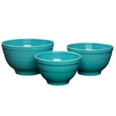 Fiesta Colored Mixing bowls