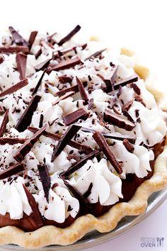 French Silk Pie (Chocolate Pie) Recipe ~ decadent, creamy, silky, and a definite crowd-pleaser.