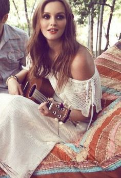 Leighton Meester - Love some Gossip Girl! Blair Waldorf, Gossip Girls, Leighton Meester Heartstrings, Pretty People, Beautiful People, Leighton Marissa Meester, White Boho Dress, Woman Crush, Girl Crushes