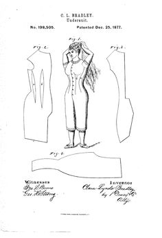 1877 Patent US198505 - IMPROVEMENT IN UNDER-SUITS - Google Patents