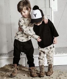 Kloo by Booso SS15 modern & urban kid's fashion collection: