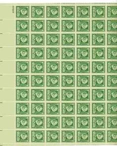 Henry W. Longfellow Sheet of 70 x 1 Cent US Postage Stamps NEW Scot 864 . $34.99. Henry W. Longfellow Sheet of 70 x 1 Cent US Postage Stamps NEW Scot 864