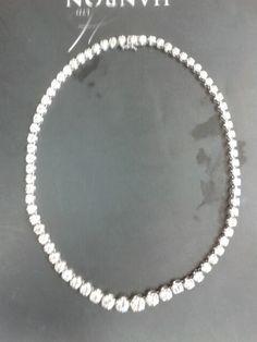 One million pound diamond necklace
