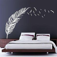 chendongdong Creative Chambre Oiseaux volants plumes Home Sticker mural en vinyle Papier peint Stickers Muraux Stickers Art Decor, blanc, Blanc chendongdong http://www.amazon.fr/dp/B015J6LAX0/ref=cm_sw_r_pi_dp_7Ze3wb037GGWY
