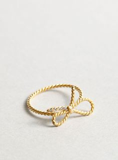 Ring bow #Ring #Jewel