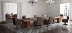 Salones despachos modernos En Ofifran seguimos renovando todos los elementos de comunicación con nuestros clientes, generando una nueva imagen a través de la página web de Ofifran de nuestra colección mas representativa, la colección Art&Moble dentro de la familia de mobiliario de oficina clásico junto a la colección Art&Luxe.