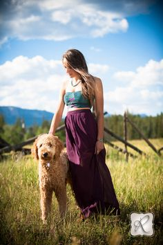 Emily | Senior Pictures with Dog Durango CO by Allison Ragsdale Photography
