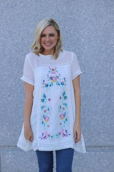 Emma Embroidered Tunic