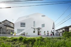 Completed in 2016 in Okazaki, Japan. Images by Koji Fujii / Nacasa & Partners Inc., Daniel Taun, Dan Honda. MAD architects have completed their first project in Japan, the Clover House kindergarten. Located in the small town of Okazaki, the school's setting...