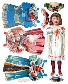 The New Model Book of Dolls, McLoughlin, 1904 - papercat - Álbumes web de Picasa
