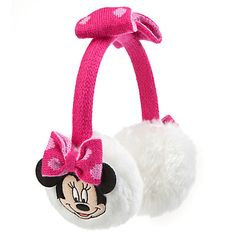 Minnie Mouse Ear Muffs