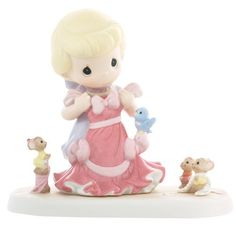 "Precious Moments Disney Collection ""Anything Is Possible With Friends"""