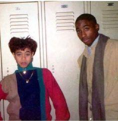 Jada Pinkets & Tupac