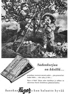 Mainos: Fazer-marmelaadia 1950 1950, Old Ads, Candy, Movies, Movie Posters, Art, Art Background, Films, Film Poster