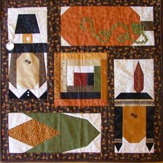 thanksgiving quilt patterns | to wish you a Happy Thanksgiving. By Ashby's Attic includes: pattern ...