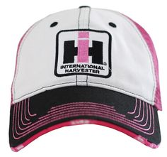 Case IH Women's Pink Distressed Hat