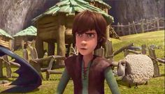 """""""It's not a competition!"""" Poor Hiccup XD"""