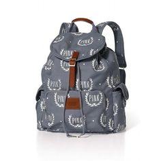Victoria's Secret Backpack ($40) ❤ liked on Polyvore