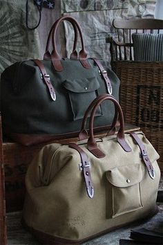 Artillery Satchel – Pipkins Home Decor and Accessories. Travel bags, men's canvas bags, luggage, briefcase and duffle bags. #TravelBags