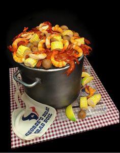 crab boil cake