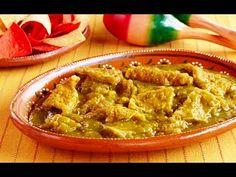 chicharron en salsa verde - receta facil y deliciosa / Rony en casa