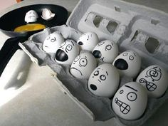 So gonna do this to freak out my husband when he goes to make eggs!
