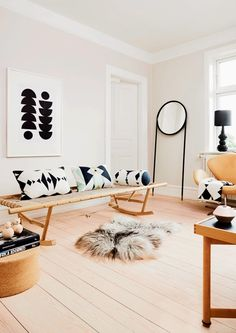 Fabulous #livingroom inspiration from Danish OYOY - organic materials & neutral tones #minimalist