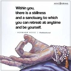 Within You, There Is A Stillness