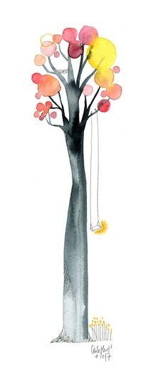 un arbre, Cécile Hudrisier