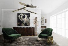 MALAY | Modern Upholstered Armchair by BRABBU