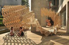 O-STRIP Pavilion by Tongji University Team