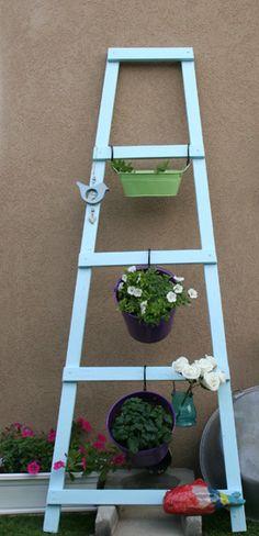 DIY wood ladder