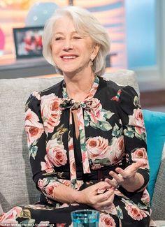 Helen mirren in TV Show Lorraine 9 february 2018