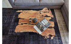 Salontafel juar bruin juar hout - 8161166-02