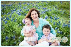 Texas Bluebonnet Session Girls with Pearls photography