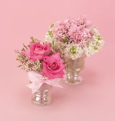 Find This Pin And More On Valentines Day Fl Pink Centerpieces For Weddings