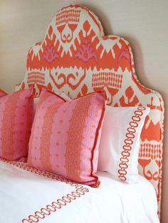 Dream Bedroom, Home Bedroom, Girls Bedroom, Bedroom Decor, Bedrooms, Preppy Bedroom, Twin Headboard, Headboards, Contemporary Bedroom