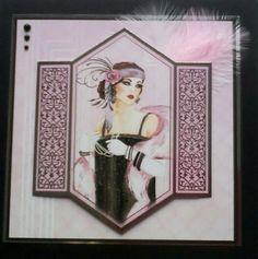 Hunkydory art Deco card                                                                                                                                                      More