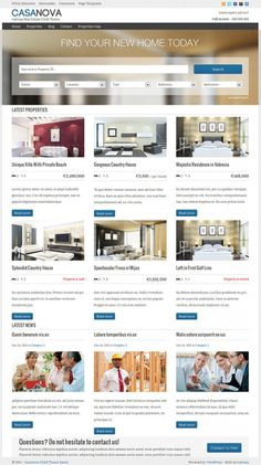 CasaNova WordPress Theme From wpCasa
