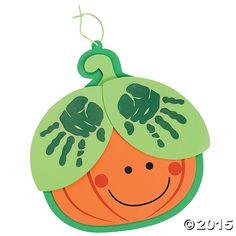 Handprint Pumpkin Craft Kit