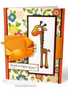 Sandy Allnock - Paper Smooches giraffe1