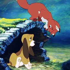 The Fox and the Hound: Tod and Copper