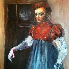 In progress painting - www.gillianleesmith.com